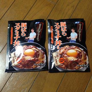 ★送料込★6人前分★豚ばらスタミナ丼の素★3人前2個セット(調味料)