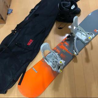 スノーボード板、靴、4点セット(ボード)