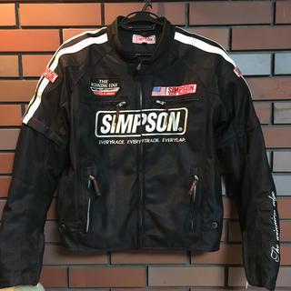 シンプソン(SIMPSON)のSimpson メッシュジャケット(ライダースジャケット)