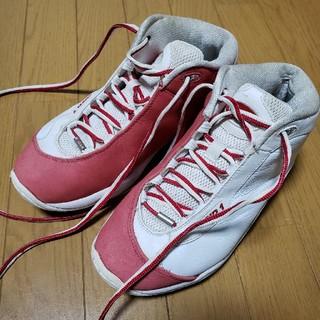 アンドワン(And1)の希少アンドワンAND1タイチ26.5白赤クレイジー(バスケットボール)