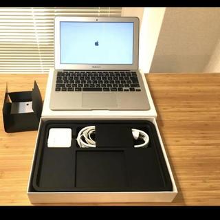 マック(Mac (Apple))のMacbook air 美品です(ノートPC)