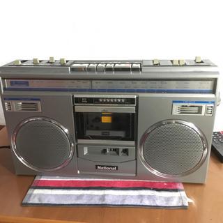 パナソニック(Panasonic)のレトロラジカセ ナショナル(ラジオ)
