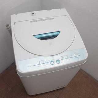 SHARP Agイオンコート 4.5kg 洗濯機 2013年 FS13(洗濯機)