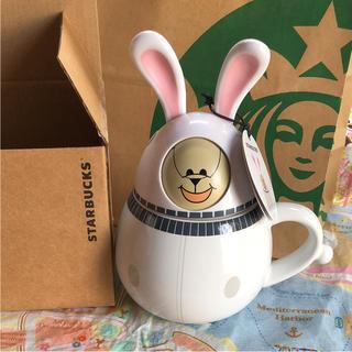 スターバックスコーヒー(Starbucks Coffee)の上海限定 スターバックス マグカップ 宇宙飛行士 うさぎ タンブラー(グラス/カップ)