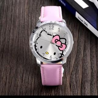 サンリオ - ハローキティ 腕時計 サンリオ 白 ピンク