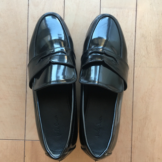 ミラオーウェン(Mila Owen)のミラオーウェン  厚底ローファー(ローファー/革靴)