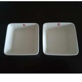 イッタラ(iittala)のイッタラ スクエア プレート 12cm 新品未使用 ホワイト ティーマ スコープ(食器)