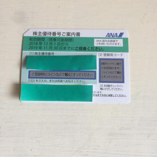 エーエヌエー(ゼンニッポンクウユ)(ANA(全日本空輸))の全日空株主優待券(その他)