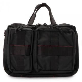 ブリーフィング(BRIEFING)の新品■BRIEFING×BEAMS PLUS■別注 3WAY BAG 黒(ビジネスバッグ)
