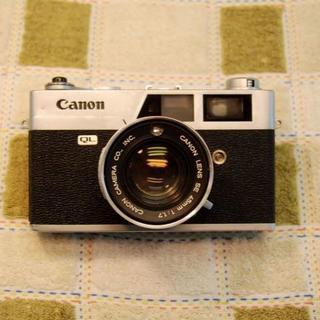 35mmフイルムカメラ Canon Canonet QL17 です。(フィルムカメラ)