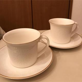 フランフラン(Francfranc)のFrancfrancペアカップ&ソーサー(グラス/カップ)