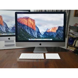 マック(Mac (Apple))のApple iMac (Retina 5K, 27インチ, Late 2015)(デスクトップ型PC)