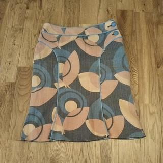 ナルミヤ インターナショナル(NARUMIYA INTERNATIONAL)のレトロ柄 スカート(ひざ丈スカート)