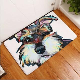 犬好きに♪玄関マット バスマット シュナウザー(玄関マット)