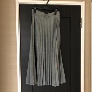ザラ(ZARA)のプリーツスカート(ロングスカート)