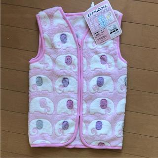ニシマツヤ(西松屋)のスリーパー ベスト かいまき毛布 3歳まで使える 女の子 ピンク 新品(パジャマ)