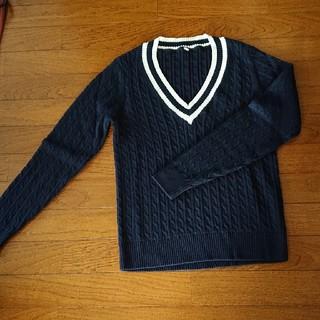 ムジルシリョウヒン(MUJI (無印良品))の無印良品 ケーブルニットセーター(ニット/セーター)
