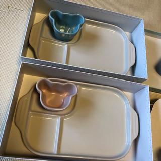 ルクルーゼ(LE CREUSET)のル・クルーゼ ベビー 食器 2つセット(離乳食器セット)