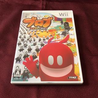 ウィー(Wii)のwii ブロブ(家庭用ゲームソフト)