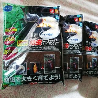 カブト虫専用マット 500L×3袋(虫類)