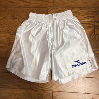 ディアドラ(DIADORA)のサッカー 白パン  130(パンツ/スパッツ)