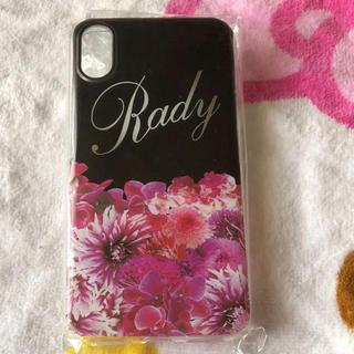 レディー(Rady)のRady iPhoneXケース(iPhoneケース)
