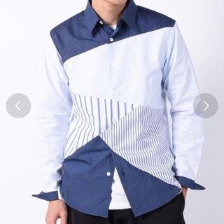 シップスジェットブルー(SHIPS JET BLUE)の【期間限定値下げ!】SHIPS JET BLUE ランダムパッチワークネルシャツ(シャツ)