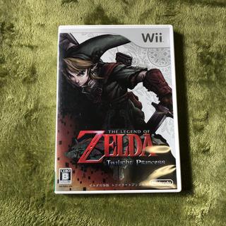 ウィー(Wii)の(ゲーム)wii ZELDA ゼルダの伝説トワイライトプリンセス(家庭用ゲームソフト)