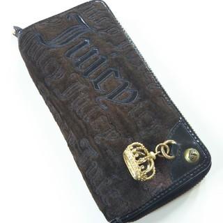 ジューシークチュール(Juicy Couture)のジューシークチュール♡JUICY COUTURE♡ロゴロゴ長財布♡クラウン付き♡(財布)