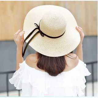 口コミ多数◆麦わら帽子◆レディース◆ベージュ(麦わら帽子/ストローハット)
