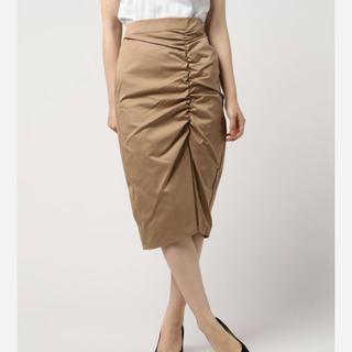 アンレリッシュ(UNRELISH)の新品 アンレリッシュ スカート ベージュ M(ひざ丈スカート)
