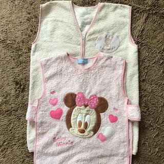 ディズニー(Disney)のスリーパー☆2着セット☆ミニー☆まとめ売り☆女の子☆ベビー☆子供☆キッズ☆防寒(パジャマ)