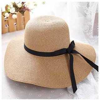 口コミ多数◆麦わら帽子◆レディース◆ブラウン(麦わら帽子/ストローハット)