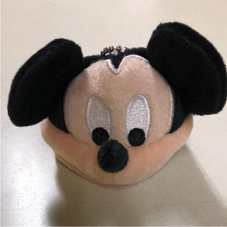 Disney - ディズニー ぬいぐるみキャップ風 キーホルダー