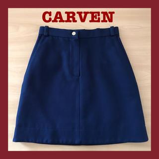 カルヴェン(CARVEN)のCARVEN カルヴァン スカート 台形スカート レディース 大人可愛い ミニ(ミニスカート)