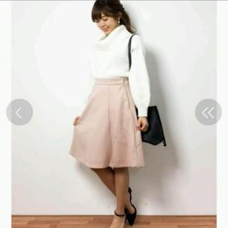 ミスティウーマン(mysty woman)の新品未使用 フレアスカート(ひざ丈スカート)