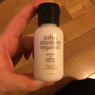 ジョンマスターオーガニック(John Masters Organics)の【新品】ジョンマスターオーガニック G&G 30ml(ボディローション/ミルク)