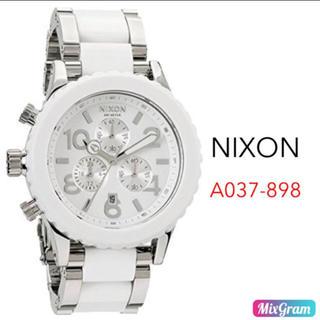 ニクソン A037-898 ホワイト シルバー レディース腕時計 新品未使用