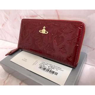 fea489d4af66 ヴィヴィアンウエストウッド(Vivienne Westwood)のエナメル赤長財布⭐ ヴィヴィアンウエスト