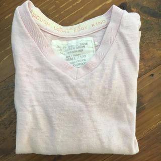 ゴートゥーハリウッド(GO TO HOLLYWOOD)のロンtee 薄ピンク100(Tシャツ/カットソー)
