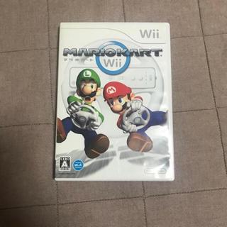 ウィー(Wii)の専用 マリオカート(家庭用ゲームソフト)