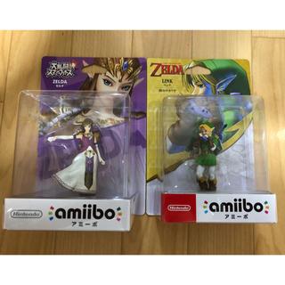 Nintendo Switch - 2点 新品未開封 アミーボ (ゼルダ姫 時のオカリナ) 任天堂 スイッチ