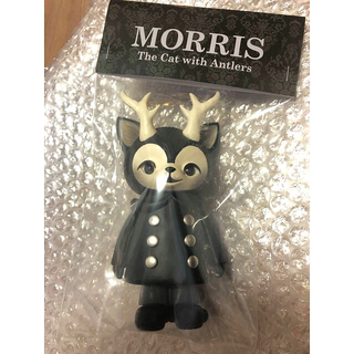 MEDICOM TOY - ブラックモリス MORRIS the cat with antlers