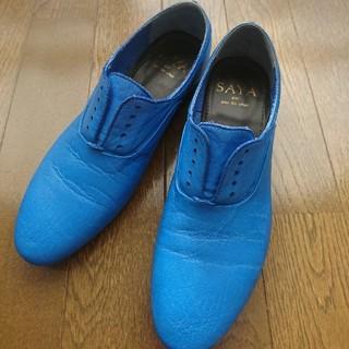 サヤ(SAYA)のSAYA⭐22.5靴⭐ラボキゴシ(ローファー/革靴)