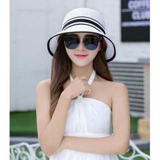 口コミ多数◆上品な麦わら帽子◆レディース◆ホワイト(麦わら帽子/ストローハット)