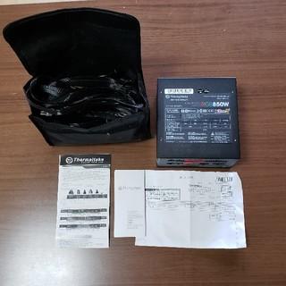 PC電源 Thermaltake 850W RGB 80+GP 中古(PCパーツ)