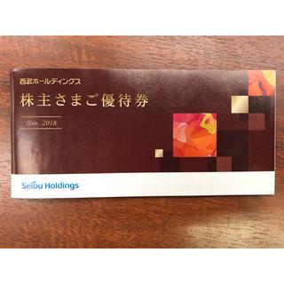 西武 冊子 株主優待券 内野指定席S5枚・1000円割引券10枚他(野球)