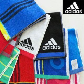 アディダス(adidas)のアディダス アクティブロングタオル マフラー・スリムスポーツタオル マキシム(タオル/バス用品)