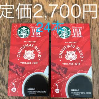 Starbucks Coffee - スターバックス via  2018 クリスマスブレンド 24本