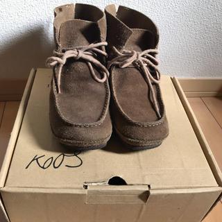 コース(KOOS)のKOOS スウェードショートブーツ(ブーツ)